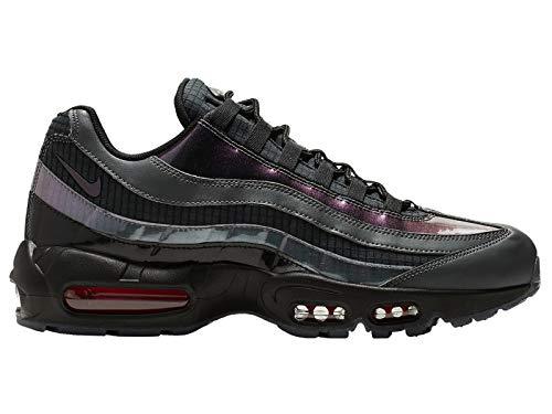 Nike Air Max 95 LV8 Black/Ember Glow-Dark Grey (8.5 D(M) US)