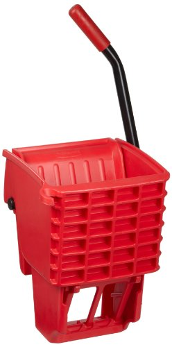 Rubbermaid Commercial FG612788RED Side-Press Wringer for 13- to 32-ounceWaveBrake Mop Buckets, Red (Rubbermaid Side Press Wringer compare prices)