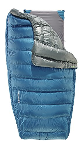 Therm-a-Rest Vela 35 Degree Puffy Down Camping Quilt, Large, Blue