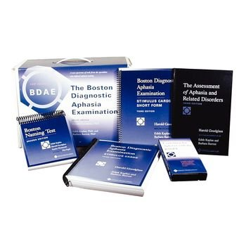 Sammons Preston Boston Diagnostic Aphasia Examination Set, Third Edition