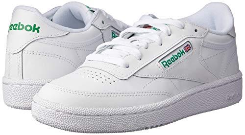 Reebok Herren Club C 85 Sneakers, Elfenbein (Int-white/green), 42 EU 7