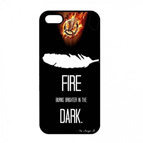 Customized Iphone 5 5S Funda Cover Of The Hunger Games,Hard Funda Cover For Iphone 5 5S