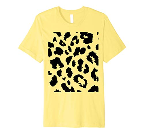 (Cheetah Print Costume Shirt - Cute Cheap Halloween)