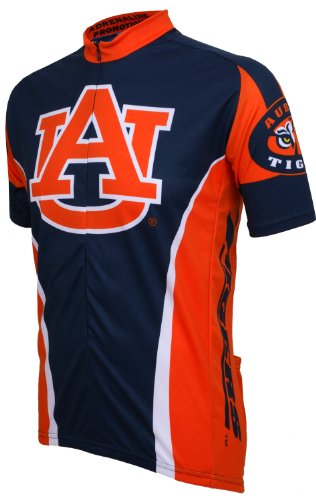 - NCAA Auburn Cycling Jersey (Medium, navy/orange) (navy/orange)