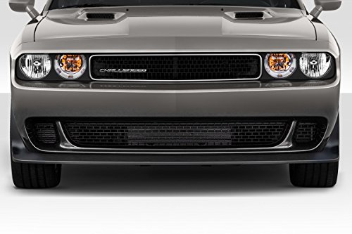 Duraflex Replacement for 2008-2014 Dodge Challenger Hellcat Look Front Bumper - 1 Piece
