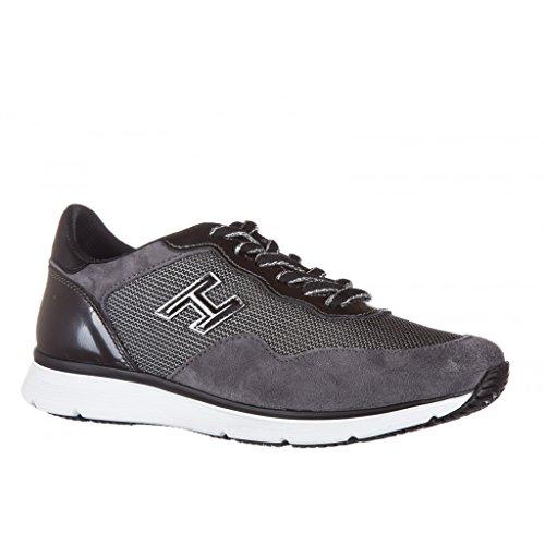 Hogan Sneakers Donna HXW2540W650F5W0JBU Camoscio Grigio