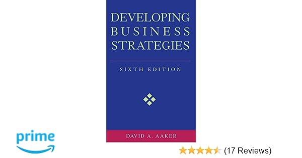 Developing Business Strategies 9780471064114