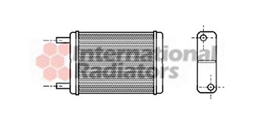Van Wezel 53006182 Heat Exchanger, Interior Heating VAN WEZEL GMBH