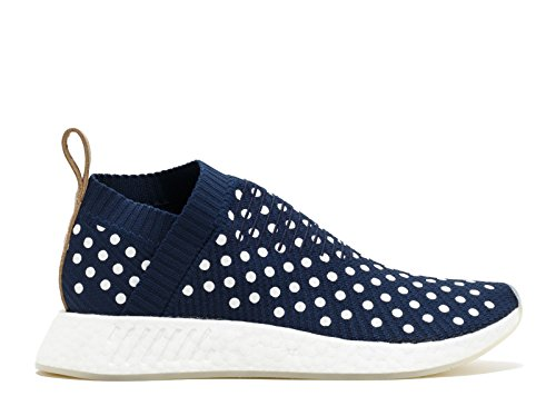 Adidas Originals NMD_CS2 Primeknit Boost W Women's Trainers Blue BA7212 Collegiate Navy/Collegiate Navy/Footwear White IZkGGFY