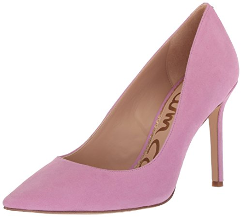 Sam M Black Edelman US Pump Suede Fiji Women's 10 Pink Dress Hazel qAr4q6R