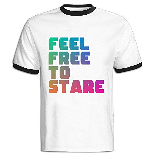 Feel-Free-To-Stare-Short-Sleeve-T-Shirt-For-rnMan