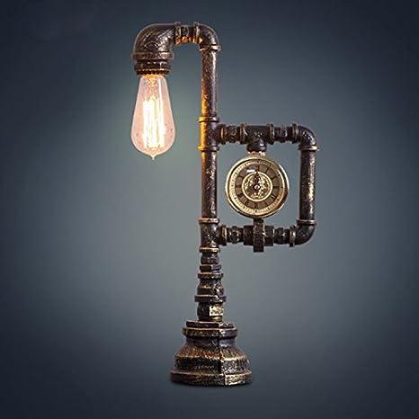 pinwei @ Agua Tubo Tipo Reloj lámpara, lámparas, lámparas de ...