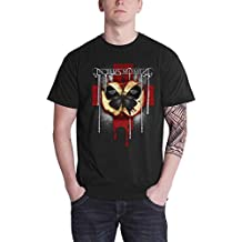 MOMENT In This T Shirt Rotten Apple Band Logo Official Mens Black