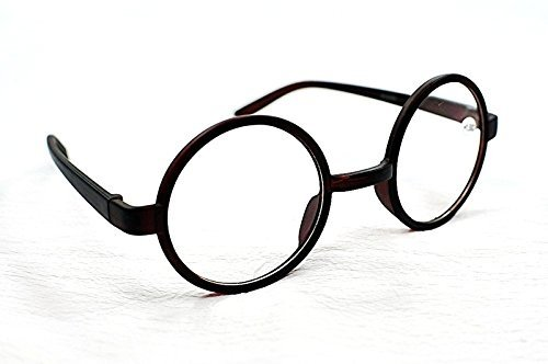 b36d0a3f41 8360 Stylish Retro Round Frame Reading Glasses+1.0+1.5+2.0+2.5 In Black or  Brown (Black
