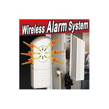 Set Of Eight Wireless Alarm And Door Chimes Doorbell