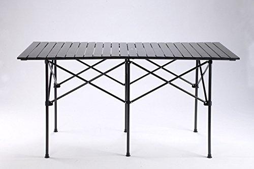 MCCOutdoor-Tisch Alu Tisch Aluminium Tabelle BBQ camping Tisch tragbaren Picknick Klapptisch