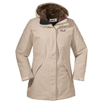 Jack wolfskin mantel beige