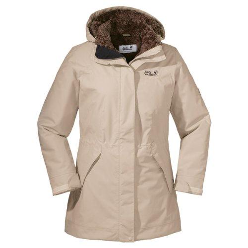 buy online 1e907 6a74b Jack Wolfskin Damen Mantel 5th Avenue Coat