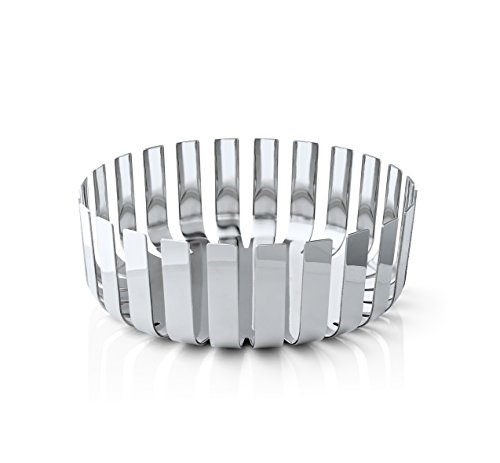 Blomus Gusto Fruit Bowl in Stainless Steel Polished 9.5'' by Blomus