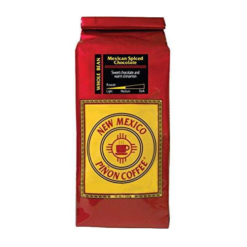 New Mexico Piñon Coffee Mexican Spiced Chocolate Flavor, Whole Bean, 12oz