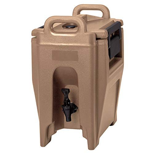 - Cambro UC250157 2-3/4-gal Ultra Camtainer Beverage Carrier - Insulated, Coffee Beige