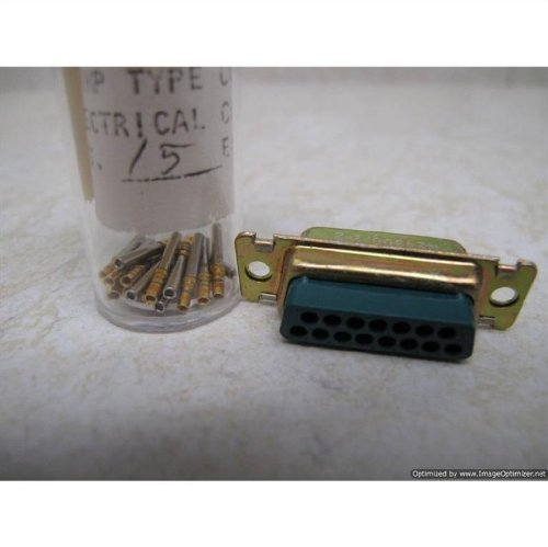 ITT Cannon 8537+24308/2-2 Connector with Pins ()
