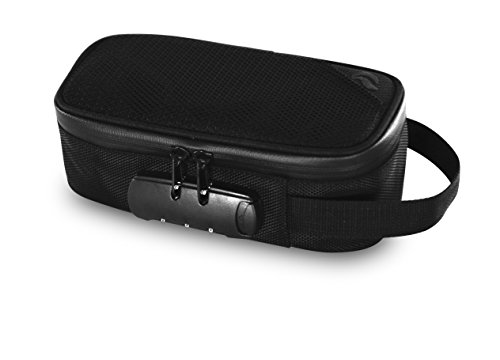 Mesh Collection Bag (Skunk Sidekick Smell Proof Case w/ Combo LockNEW COLLECTION (Black))