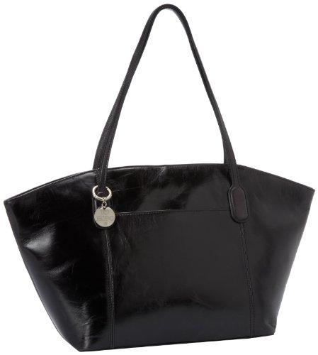 HOBO Patti VI-35484BLK Tote,Black,One Size, Bags Central