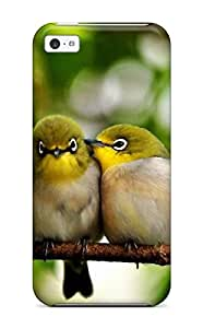 Christopher B. Kennedy's Shop Best High-end Case Cover Protector For Iphone 5c(cute Little Birds) 9658778K70652451