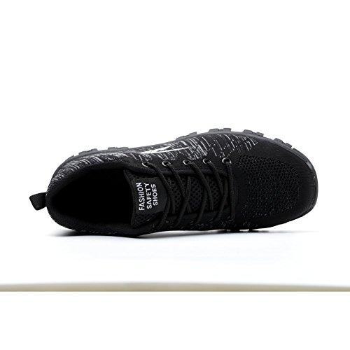 Travail Happygo De Chaussure Chaussures Homme Et Embout Noir1 En Avec Sécurité Baskets Femme Acier Protection Semelle Y5rYxUqFw