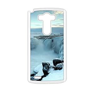 Beautiful winter scenery durable fashion phone case for LG G3