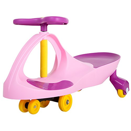Ride on Toy Wiggle Car by Lil' Rider   Ride on Toys for Boys and Girls, 2 Year Old And Up, (Pink and Purple)
