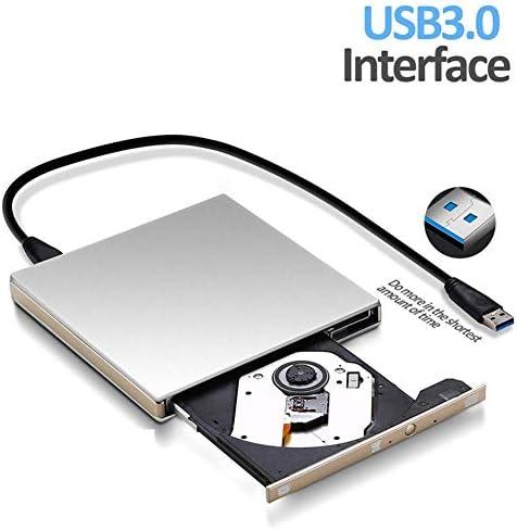 Lcxliga 外付けDVDドライブUSBポータブルDVD CDプレーヤーUSB 3.0インターフェイスCD / DVD-RAMスーパードライブDVD +/- RWバーナーリライタ/リーダー