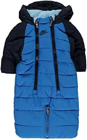 f2dfd0072d10a NIKE Infant/Toddler Sportswear Convertible Snowsuit Jacket Navy Blue/White