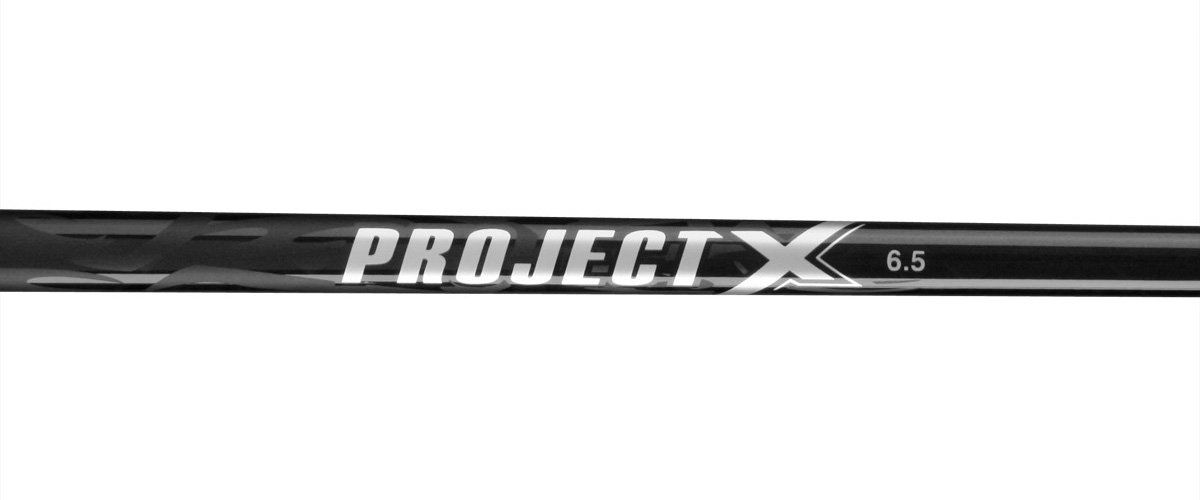 Project X 6.5 Graphite 0.355 Taper Tip Hybrid Golf Shaft (X Flex), Black