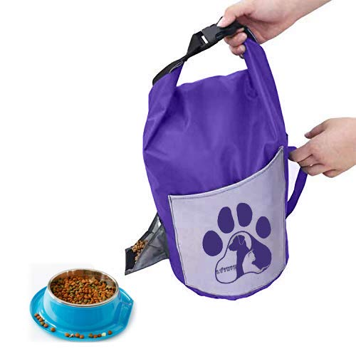 dog food storage container dog travel tips