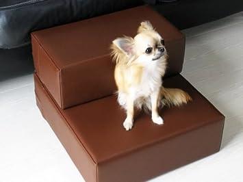 Unbekannt Perros Escaleras de Piel sintética, Distintos Tamaños Posible: Amazon.es: Productos para mascotas