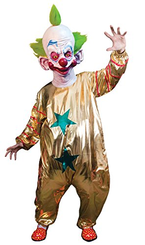 Killer Klowns From Outer Space Costume (Trick or Treat Studios Men's Killer Klowns From Outer Space-Shorty Costume, Multi, One Size)