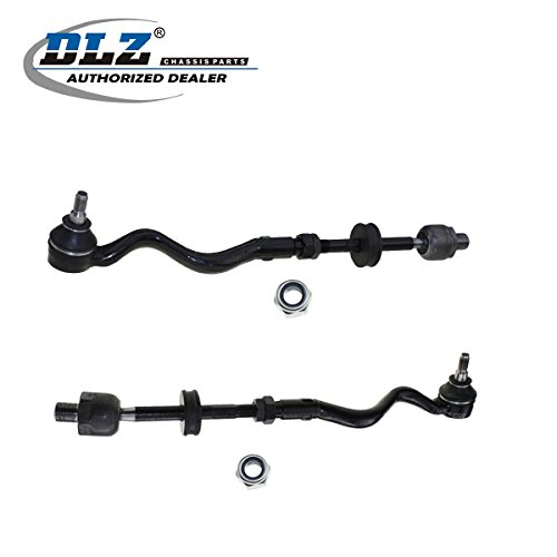 (DLZ 2 Pcs Front Left Right inner outer Tie Rod Assembly Compatible with 1992-1999 BMW 318i 318is 325i 325is 328i 328is 318ti M3 1998-1999 BMW 323i 323is 1992-1995 BMW 325is)