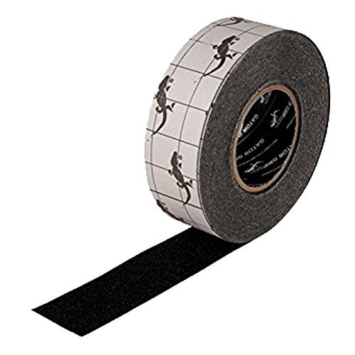 (Gator Grip | Premium Quality | Safety Traction Anti-Slip Tape | Black |2 Inch x 60 Foot Roll)