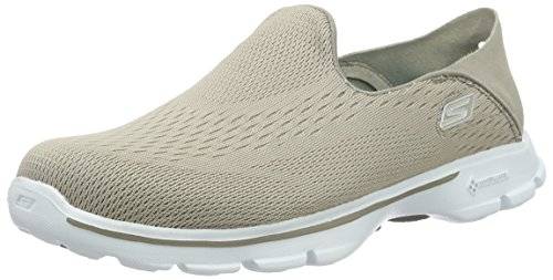 Skechers Womens Gowalk 3 Domination Slip Sur La Pierre