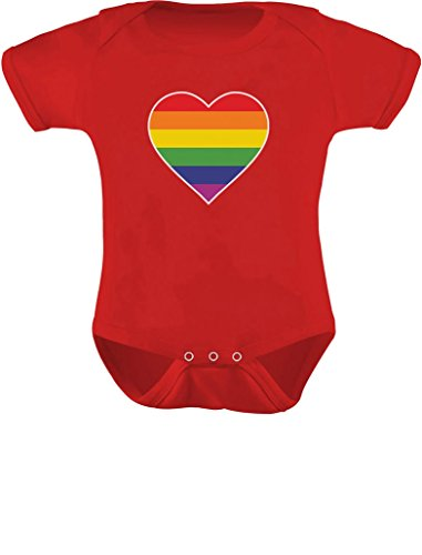 LGBT Baby Outfit Love Pride Gay & Lesbian Rainbow