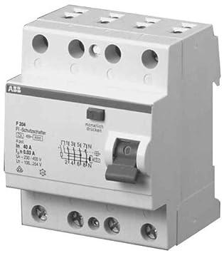 ABB Stotz S&J FI-Schutzschalter F204A-40: Amazon.de: Elektronik