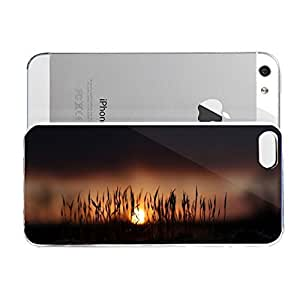 iPhone 5&5S cover case Animals Morning Moss Grass Sun