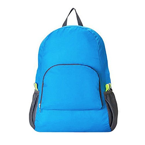 Tsond Outdoor Sports Nylon Waterproof Foldable Backpack/ Hiking Bag/ Camping Rucksack