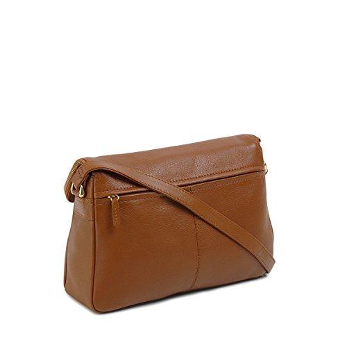 Medium 12688 Tula Cross Body Tula Medium Bag Flapover Tan EF8wxRBq