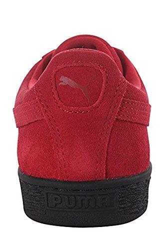 PUMA Adult Wildleder Klassischer Schuh Rot schwarz