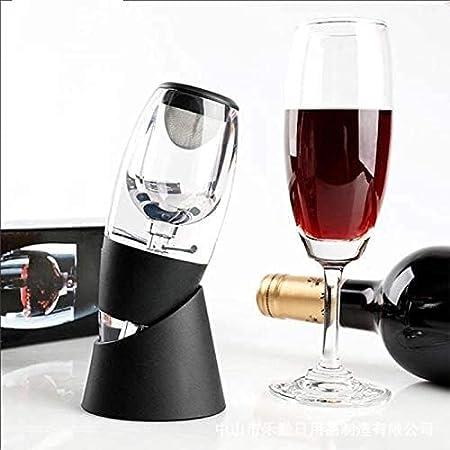 Cuina VIRADOR DE AEROADOR DE Vino con TOUMIENTO DE VACÍO DE Vino CLÁSICO DIFUSOR DE DIFUSTIENTE para Botella DE VINOS ARERADORES INSTANTANTES DE Vino DE Vino sin derrame Yuechuang