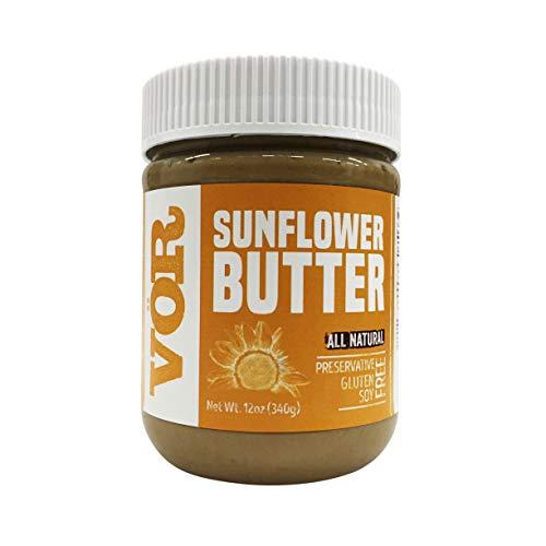 Vor Pure Sunflower Seed Butter 12oz Jar