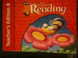 Read Online Early Interventions in Reading Level 1 - Teacher's Edition B (Teacher's Edition B, Level 1) PDF Text fb2 book